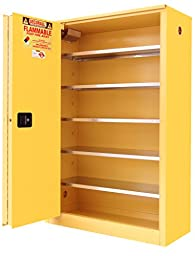 Securall P260 Paint/Ink Storage Cabinet - Yellow