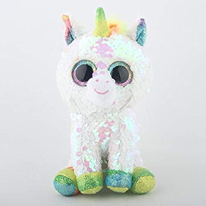 YOUHA Ty Beanie Boos Unicornio Peluche Juguete Muñeca Animal ...