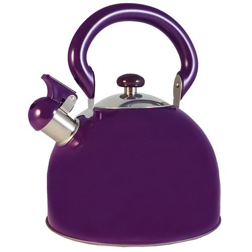 purple tea kettle whistling - 5