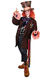 elope Alice In Wonderland Authentic MAD Hatter Costume