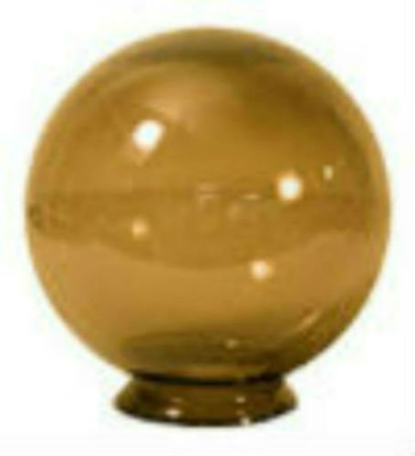 10'' Bronze Acrylic Replacement Globe with 3.91'' Solid Flange