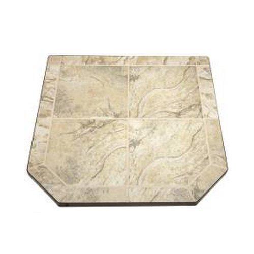 American Panel Desert Storm Ii Double Cut Tile Stove Board 48 In. X 48 In.