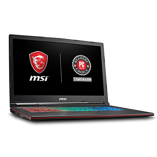"MSI GP73 Leopard-209 17.3"" Thin and Light Gaming Laptop GTX"