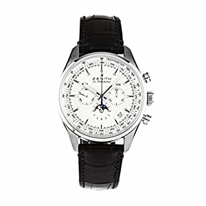 Zenith El Primero 410 swiss-automatic mens Watch 03.2091.410/01.C494 (Certified Pre-owned)