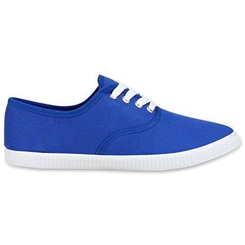 napoli-fashion - Zapatillas Mujer Blau Blue
