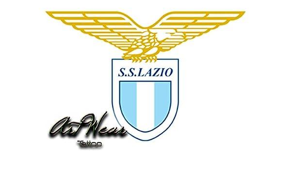 Tatuaje Temporal Equipe Club fútbol - Italia Lazio Roma - artwear ...