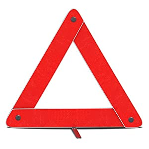 Amazon.com: mAuto Emergency Warning Triangle Foldable Reflective ...
