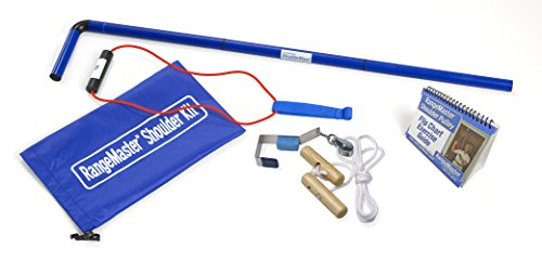 RangeMaster Shoulder Kit All in One Shoulder Strengthening and Home Therapy Kit (Metal Bracket Door Attachment)