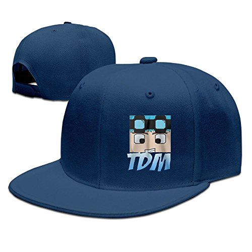 Evelyn C. Connor Dan TDM Logo Snapback Baseball Caps Navy