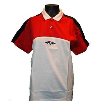 Lotto Polo Generación S Junior, Niños, Color Crema/Rojo/Color Azul ...