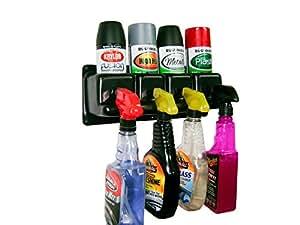 Product Handlers Spray Can / Spray Bottle Holder Caddie Rack Garage Shop Race Trailer Storage Organizer (Spray Can / Spray Bottle Holder)