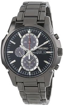 Seiko Men's Ssc095 Chronograph-solar Classic Solar Watch 0