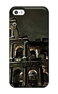 Special Design Back Colosseum Roman Architecture Phone Case Cover For Iphone 5/5s