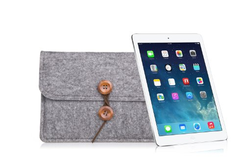 Bear Motion for iPad Mini - Premium Felt Sleeve Case for iPad Mini 4, iPad Mini, iPad Mini 2 with Retina Display & iPad Mini 3