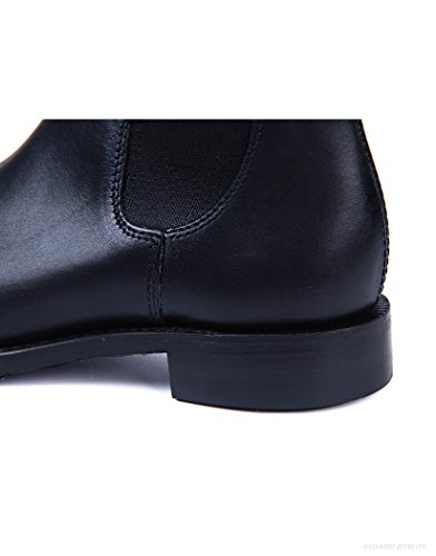 Ladies Chelsea Chatterley Boot Black Loake qdv6Twq