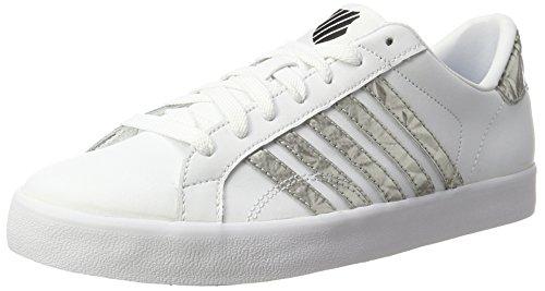 Femme Basses Belmont Sneakers swiss silver black So K Blanc white Hq4pZwUUT