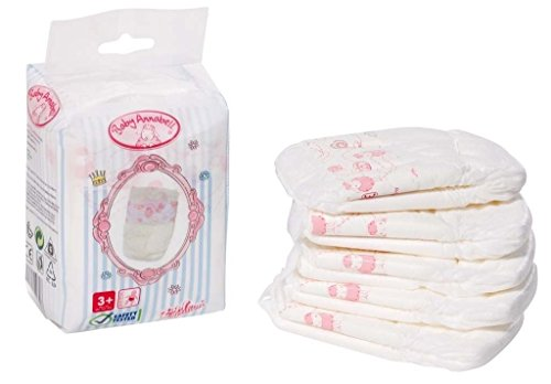Baby Annabell - Pack Of 5 Nappies