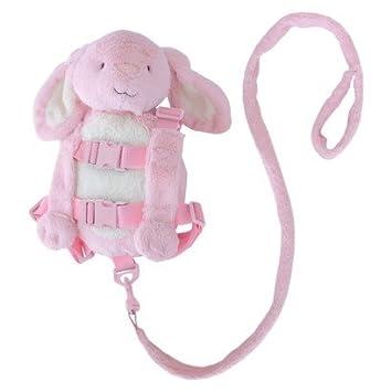 Baby Safety & Health Eddie Bauer Pink Plush Puppy Harness Buddy Plush Backpack Child Safety Leash Baby