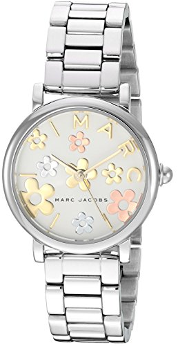 Marc Jacobs Women's 'Classic' Quartz Stainless Steel Casual Watch, Color:Silver-Toned (Model: MJ3581)