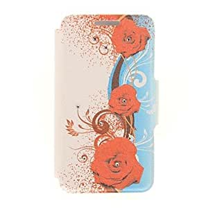 HaleyL-National Wind Design PU Full Body Case with Stand with Card Slot for iPhone 6 Plus