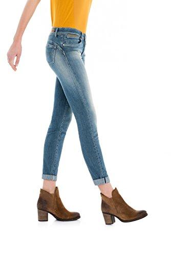 Jeans Femme up Push Bleu Salsa 7HqETRwH
