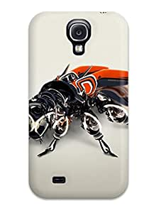 Ultra Slim Fit Hard Gwenda Cromer Case Cover Specially Made For Galaxy S4- Mechanical Bee