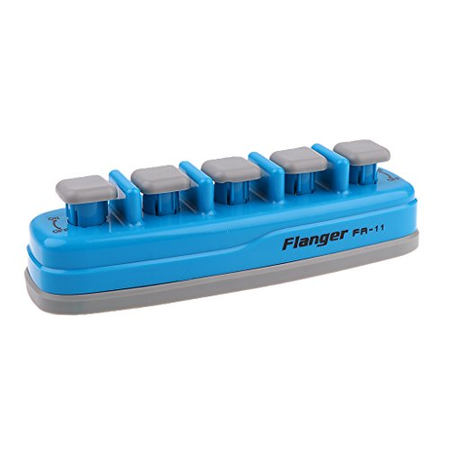 Homyl Professional Piano Electronic Keyboard Hand Finger Exerciser Strengthener for Guitar Piano - Blue by Homyl
