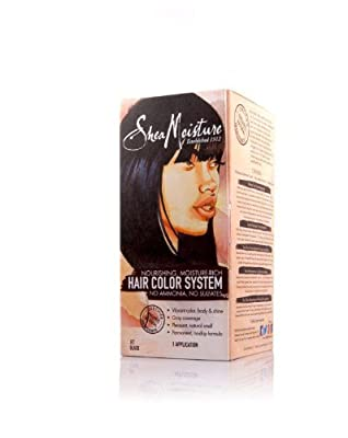 Shea Moisture Hair Color System - JET BLACK