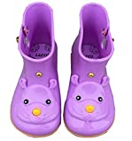iFANS Girls Kids Cute Rhinoceros Rain Boots Rubber Boys Snow Jelly Shoes for Children