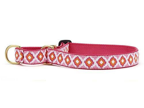 Medium Up Country Pink Crush Martingale Dog Collar