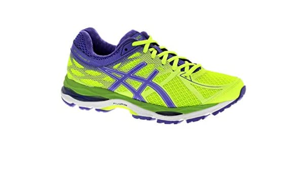 Asics Gel Cumulus 17 Womens Running Trainers, Flash Yellow/Acai Green, T5D8N 0733, EU 45: Amazon.es: Zapatos y complementos