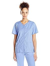 WONDERWINK womens Wonderwork Short Sleeve Snap Jacket