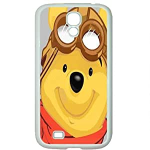 S4 case ,Samsung Galaxy S4 case ,fashion durable White side design for Samsung Galaxy S4,PC material phone cover ,Designed Specially Pattern with Pooh . by runtopwell