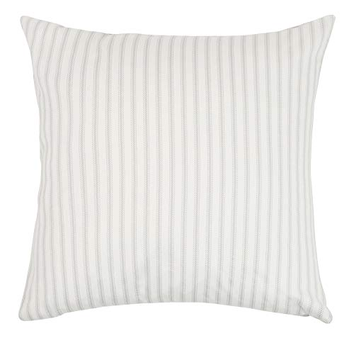 Dormify Hampton Stripe Euro Sham, Ultra Soft Cotton Sham, for Fashion-Minded and Small-Space Decorating