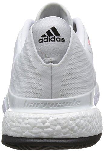 adidas Barricade 2018 Boost Scarpe da Tennis - SS18 bianco