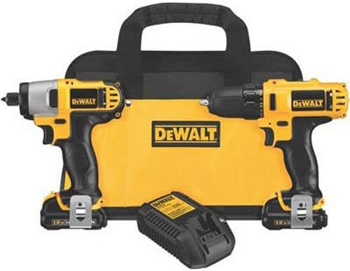 DEWALT 12V Impact Driver and Drill Combo Kit DCK211S2