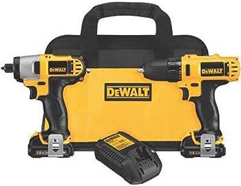 Dewalt DCK211S2 12V MAX Cordless Li-Ion Drill/Driver Combo Kit