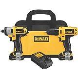 DEWALT 12V Impact Driver and Drill Combo Kit...