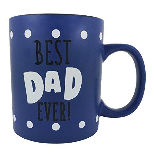 KINREX Dad Gifts - Dad Coffee Mug - Birthday Mug - Best Dad