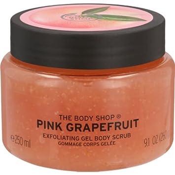 The Body Shop corpo esfoliante corpo - British Rose / karitè / mango / oliva / cocco / pompelmo rosa / olio di argan / satsuma / fragola / latte di mandorle e miele / moringa / tè verde fuji (Moringa) C-TB-009-14