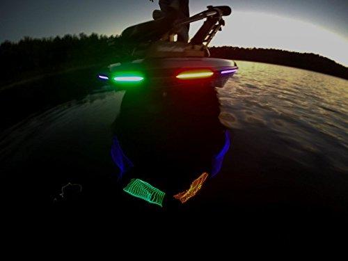 LEDhead Lighting Boat LED Nav Light Kit Lifetime Warranty Red & Green 10