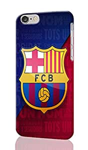 "barcelona escudo Personalized Diy Custom Unique 3D Rough Hard Case Cover Skin For iPhone 6 Plus 5.5"" inches, Design By Graceworld"