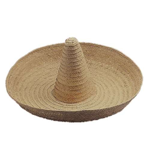 Giant Jumbo Sombrero Hat Zapata Straw Spanish Mexican Adult Costume  Accessory ... 88a5cfedba46