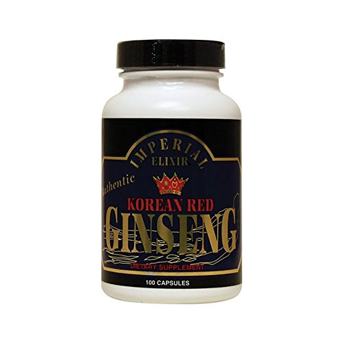 Imperial Elixir Korean Red Ginseng - 300 mg each - 100 ()