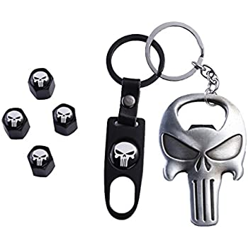 Amazon.com: TK-KLZ Skull Car Truck Motorcycle Bike Tire ...