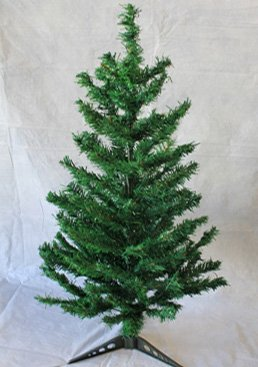 2ft Canadian Pine PVC Artificial Christmas Tree 2 Foot - Unlit