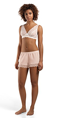 HANRO Women's ginevra Short Pant, ROSEO, Large by HANRO