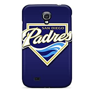 Samsung Galaxy S4 XKL3670Dnlg Provide Private Custom Trendy San Diego Padres Pictures Shock Absorbent Cell-phone Hard Cover -LisaSwinburnson
