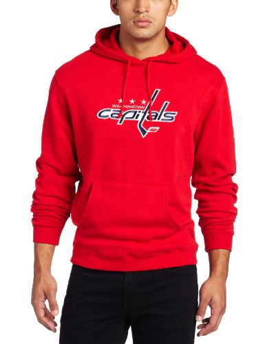 NHL Men's Washington Capitals Playbook Hood (Red, X-Large)