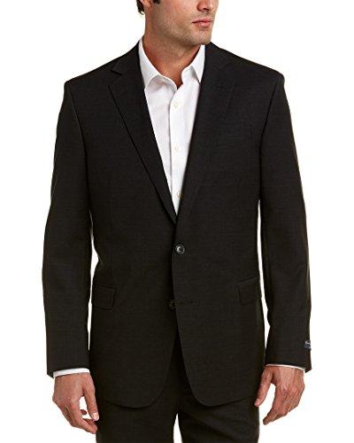 (Brooks Brothers Mens Explorer Regent Fit Wool-Blend Jacket, 42R, Grey)